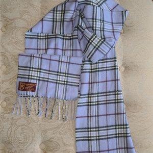 ♥️Cashmink purple plaid scarf